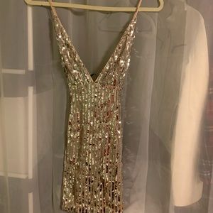 Brand new sparkly sequin party dress